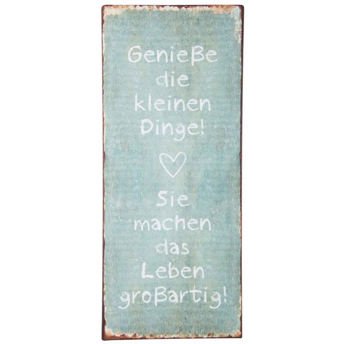 8930-00_Metallschild_geniesse-die-kleinen-Dinge