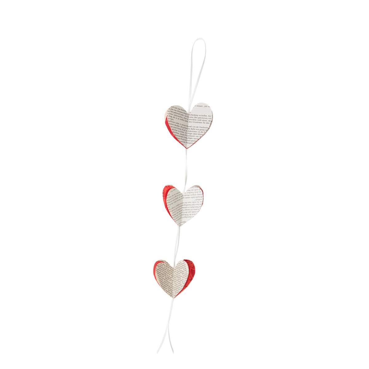 Girlande-Herz