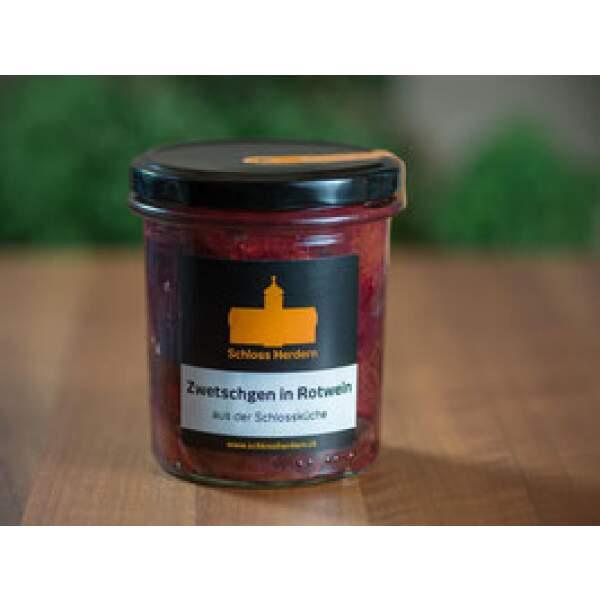 Kompott-Zwetschgen-in-Rotwein