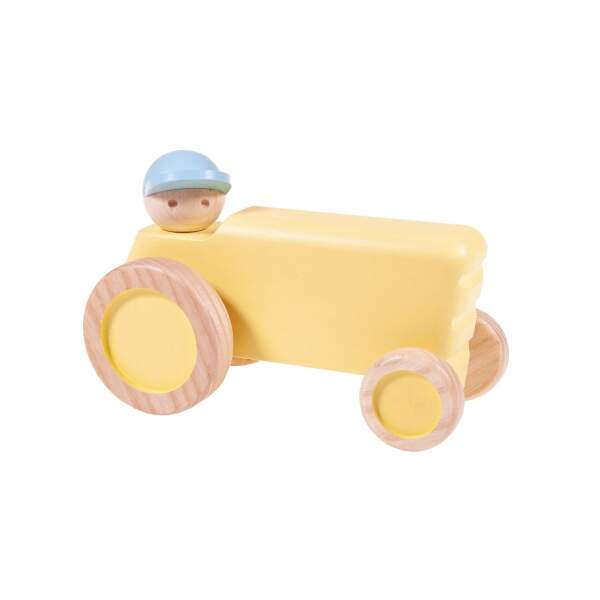 Traktor-Sonnenstrahl