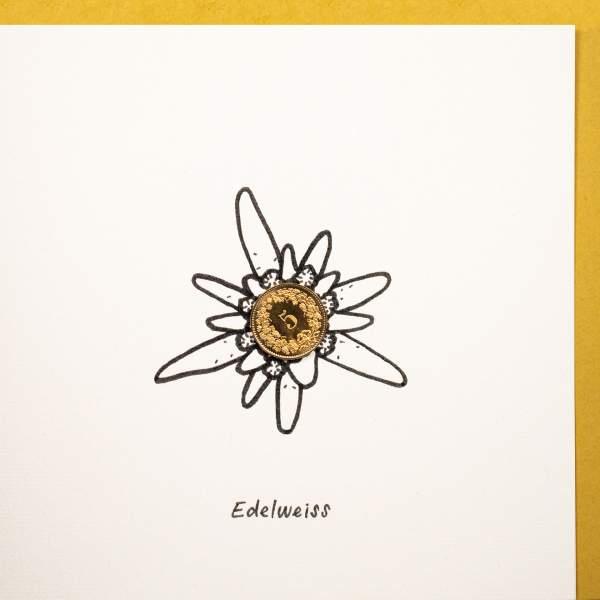 5er-Edelweiss