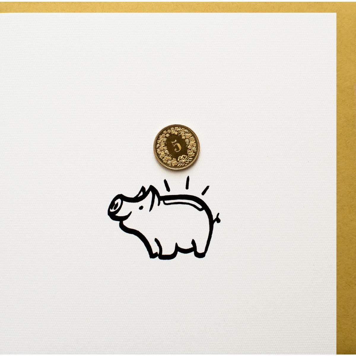 5er-Sparschwein